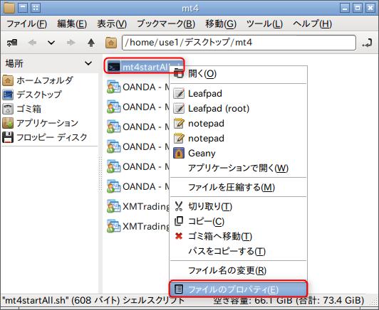 LinuxbeanMt4Start5